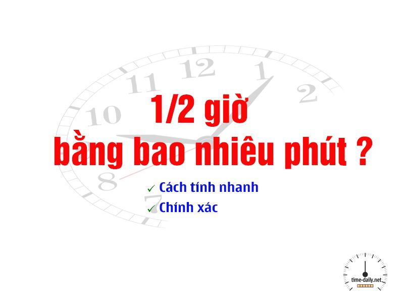 1.2 giờ bằng bao nhiêu phút
